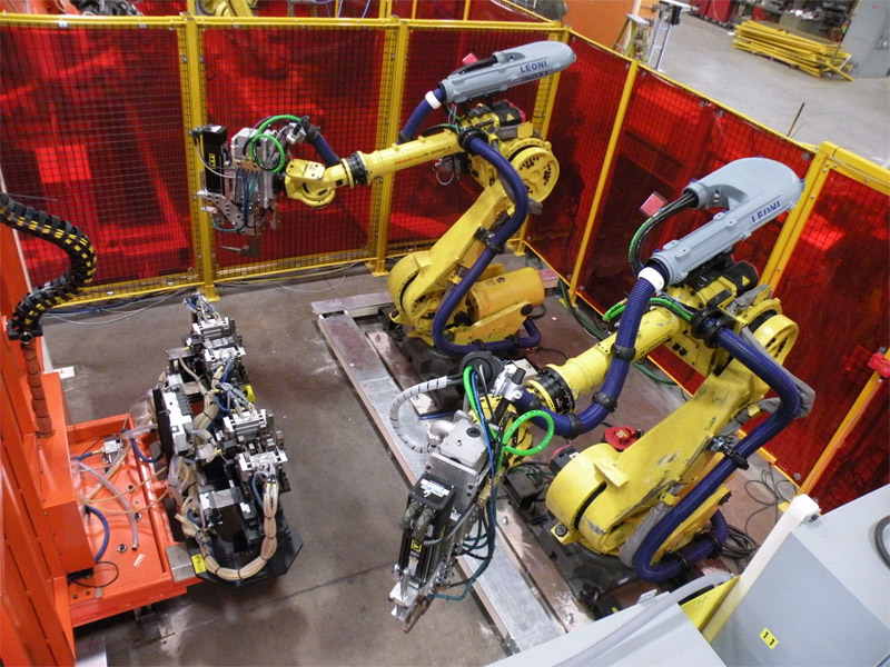Design And Manufacturing Of Automated Welding Systems
